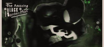 Homerkun Graph' Sign-black-spider-man-2f8dfb9