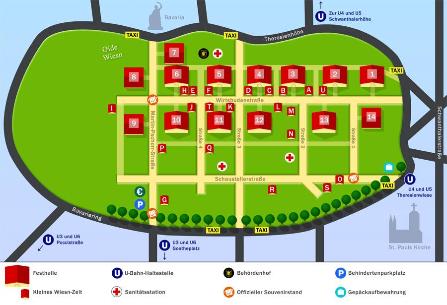 PHOTOS DE L'OKTOBERFEST 2011 A MUNICH Karte_alle_nummern_900x615-2d36791