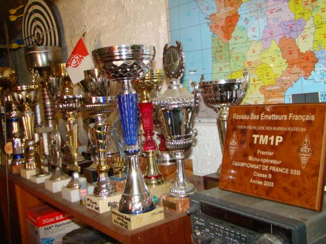 Trophées - coupes remportés