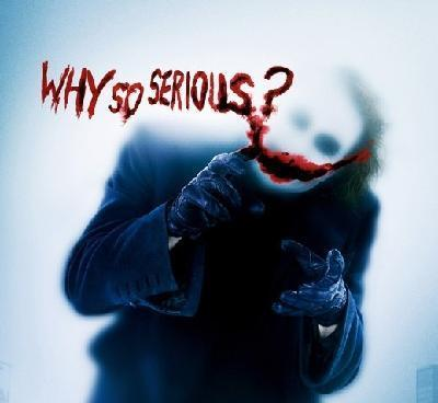 Why So Serious Index du Forum