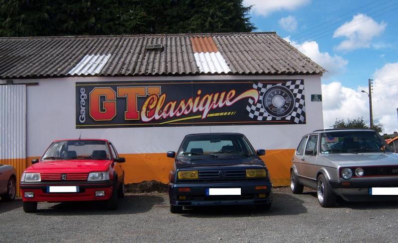 Inauguration du garage gti classique breizh gti 80 for Garage ford finistere
