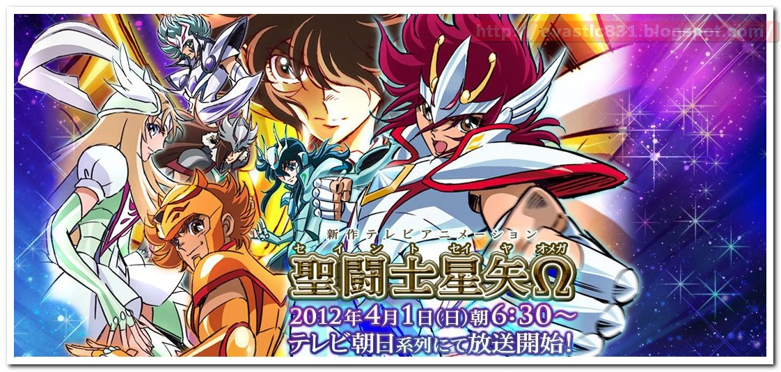 "Notizia ufficiale TOEI: ""Saint Seiya Omega"" in Giappone dal 1 aprile!"